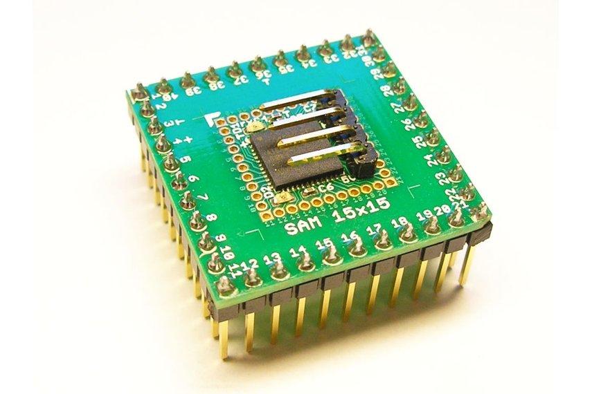 SAM 15x15 Arduino Zero compatible SAMD21 board