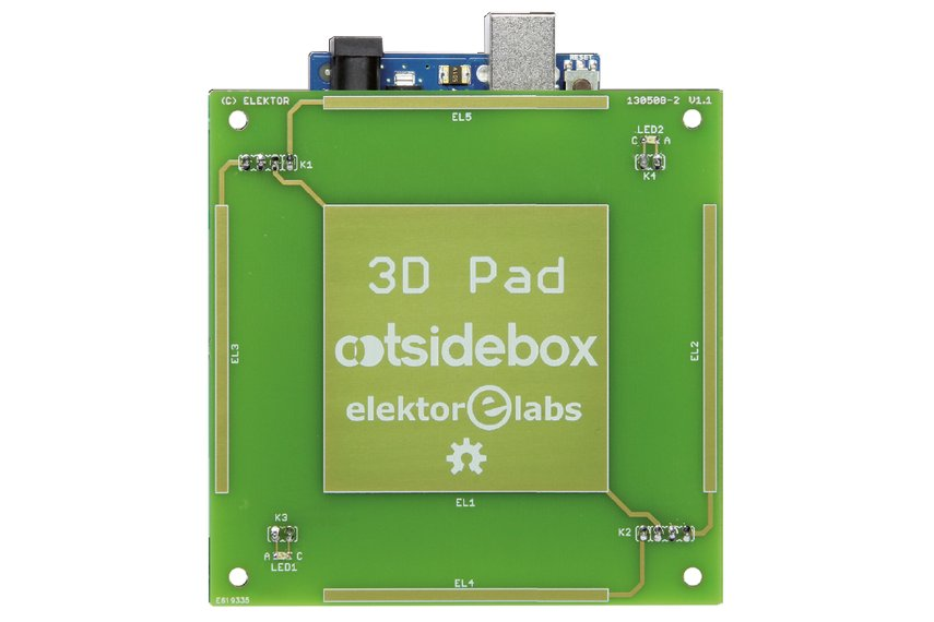 Dpad touchless gesture controller arduino shield from