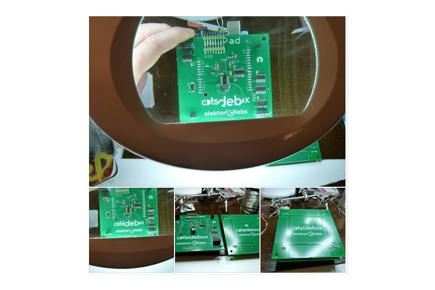 3Dpad  touchless gesture controller Arduino shield