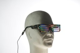 Full Color RGB Led glasses