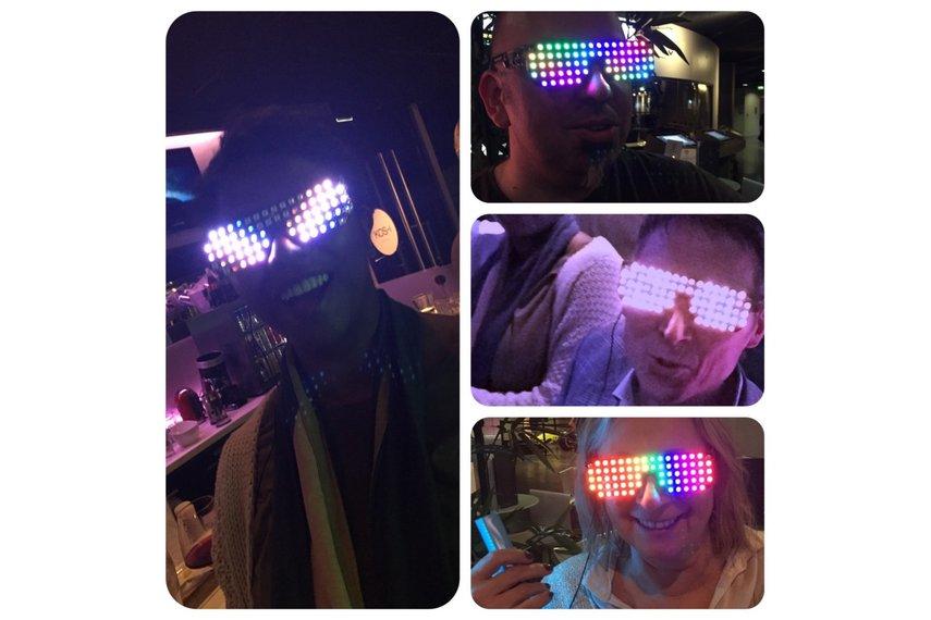 Full Color RGB Led glasses