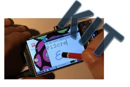 "PiScreenKIT:3.5"" TFT & touch for the Raspberry Pi"