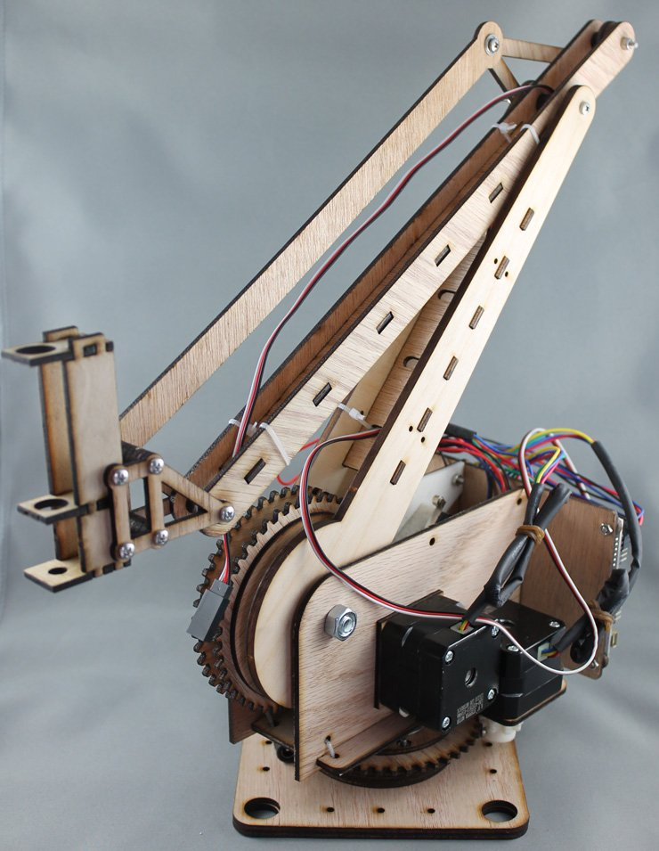 how to make arm robot