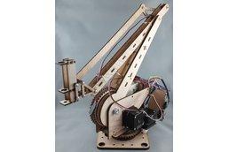 3DOF Robot Arm, 50cm reach, 125g payload