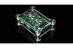 Raspberry Pi Open Clear Case Kit - Wall Mountable