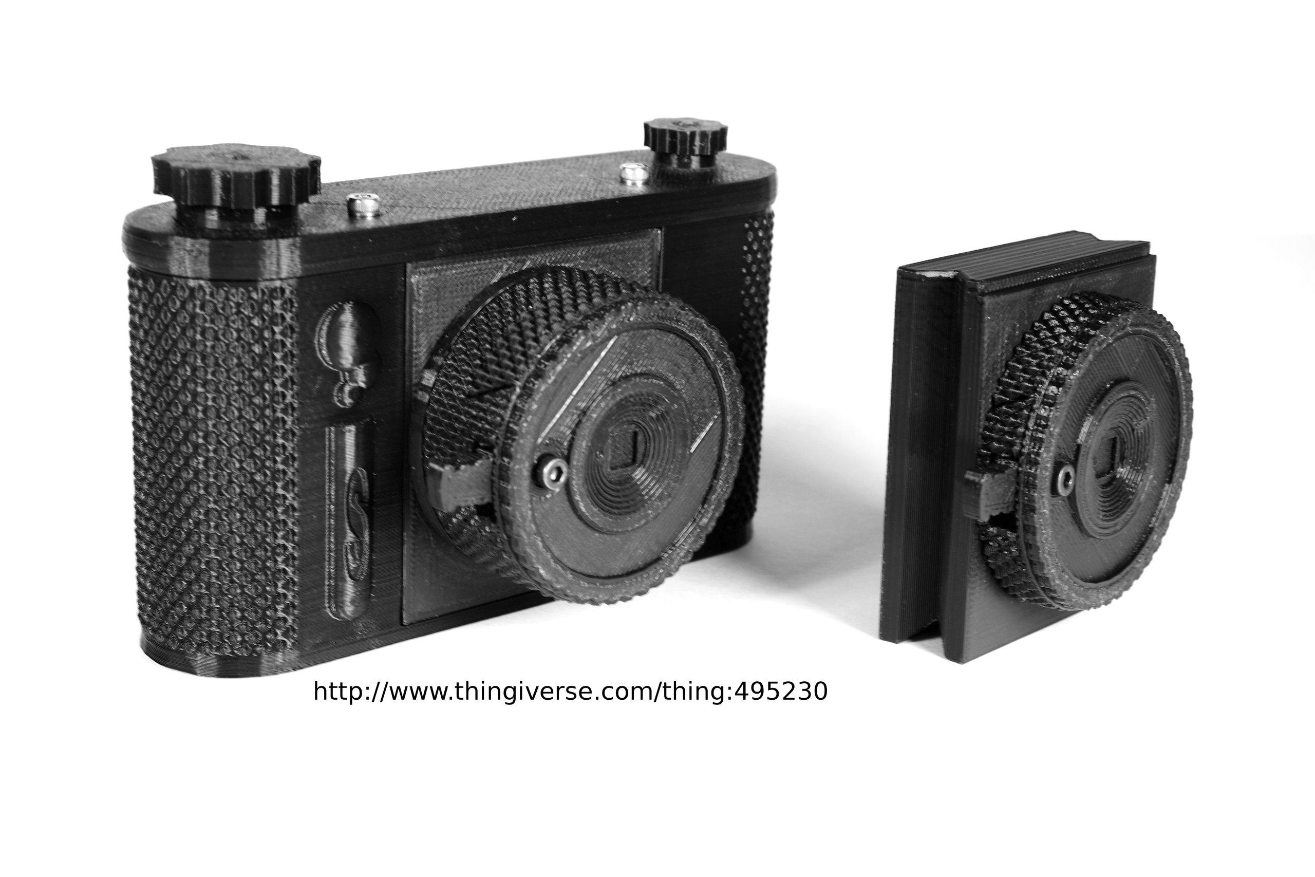 terraPin 3Dprinted Pinhole Camera (6X6 format) from schlem ...