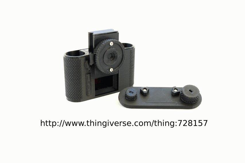 "terraPin 3Dprinted Pinhole Camera -""Bijou"" 6 X 4.5"