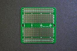 High-density protoboard - a.k.a. 674 holes