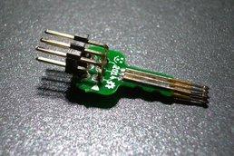 Tiny AVR-ISP pogo-pin programming adapter