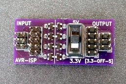 AVR-ISP level-shifter