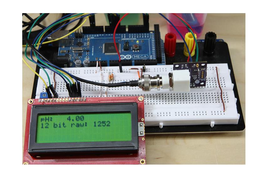 MinipH I2C pH interface
