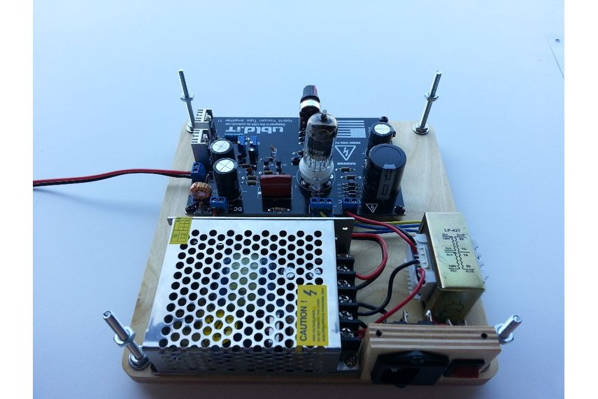 Hybrid Vacuum Tube Audio Amplifier