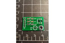 Sensor board for TCRT5000 (PCB only)