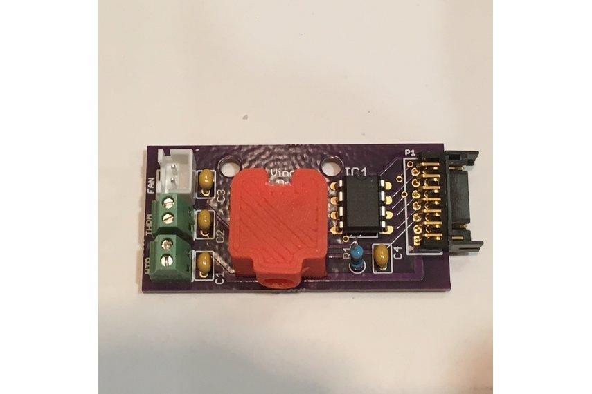 da Vinci 1.0 Pro Hot End PCB