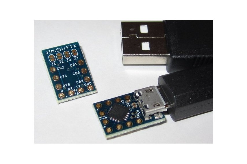 MicroFTX USB-Serial Breakout