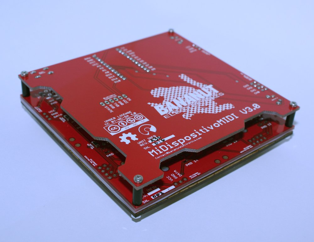 Arduino midi controller from bnelectronics on tindie