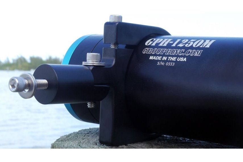 Custom CNC Clamp for GPH underwater housing