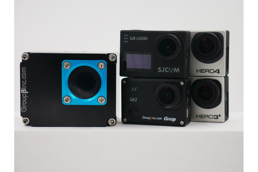 Scout for GitUp. SJCAM and GoPro ® HERO® 3, 3+, 4