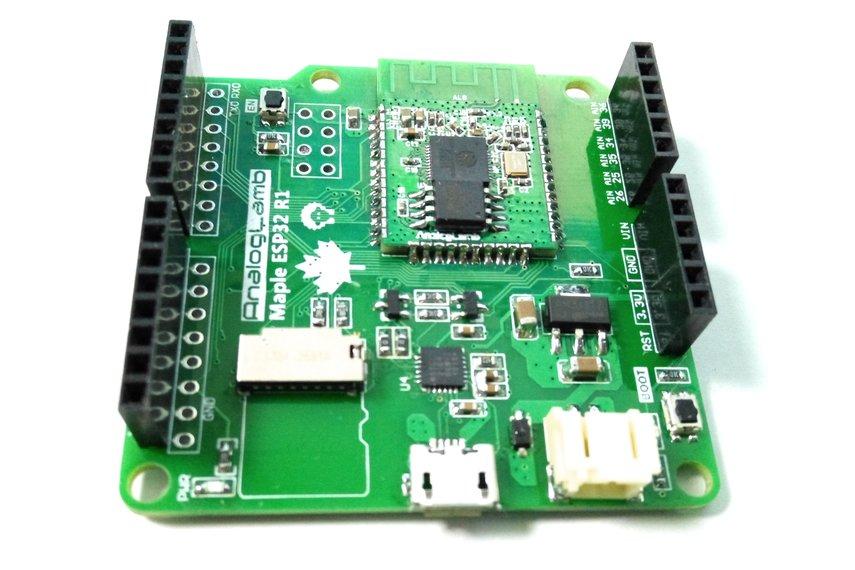 Maple ESP32 – ESP32 Board with Micro SD Interface