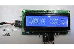 Temperature Data Logger 4 Ch USB (4000 record)