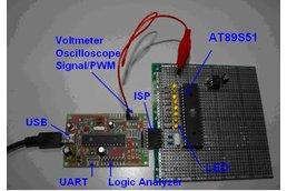AVR Arduino  24 I2C USB Programmer Oscilloscope
