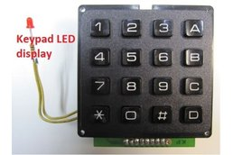 DTMF Encoder Generator 16 key & TX keying &   UART