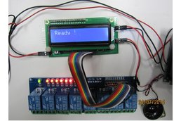 DTMF Decoder controller & audio transpond & UART