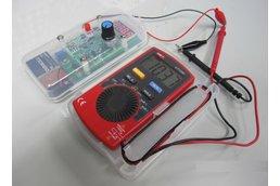 2-in-1 0-24mA current loop signal simulator/0-10V