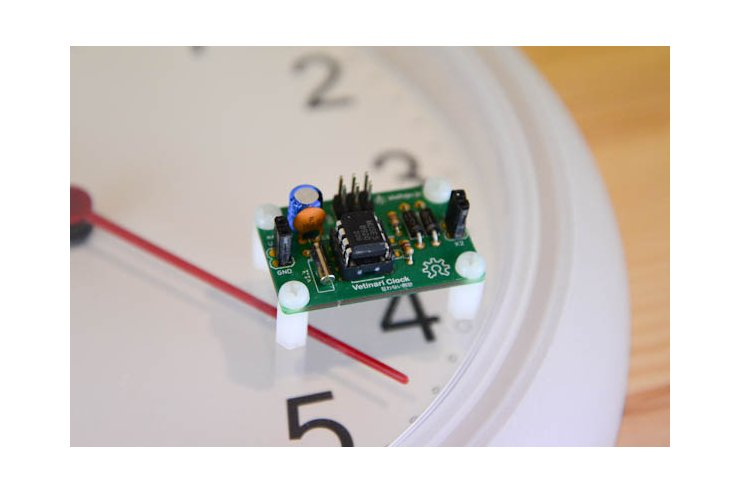 Vetinari Clock - the clock that ticks randomly but still keeps accurate time!