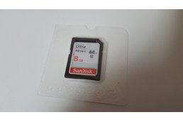 Genuine Sandisk 8GB SD (full size SD) HC Class 10