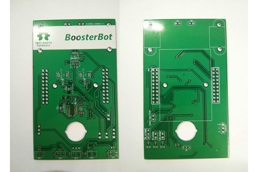 BoosterBot - Turn your LaunchPad into a Robot!