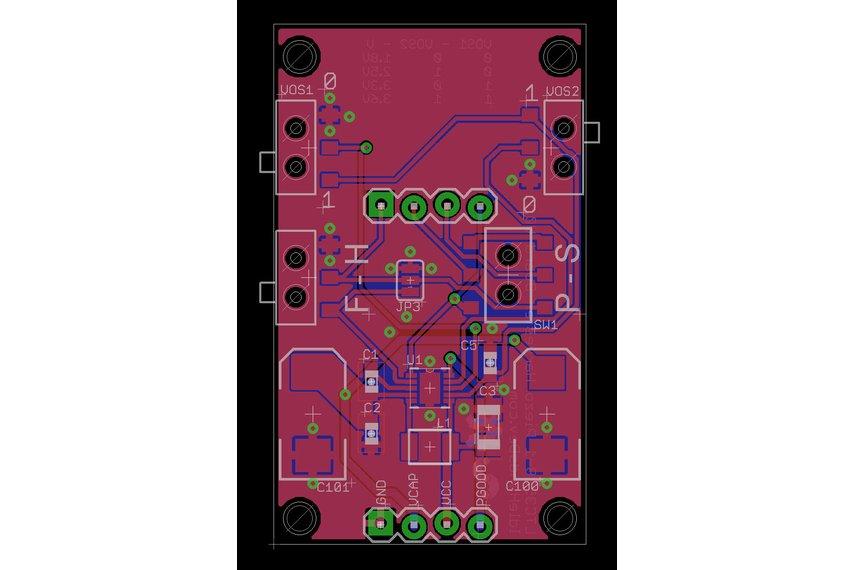 Piezo Energy Harvester - LTC3588 Demo Board