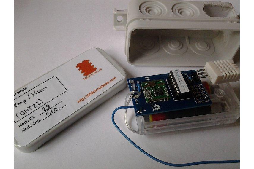 ATtiny Sensor Node PCB