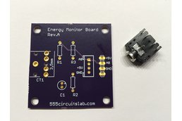 Energy Monitor Board PCB (incl. Stereo Jack)