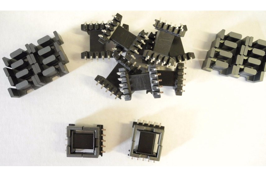 Ferrite Cores with Bobbins EDF20 Sized JPP-95