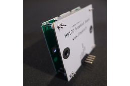 HB100 doppler module with backpack
