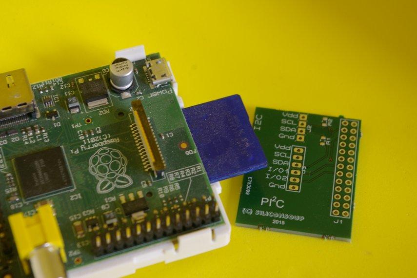 Pi2C Interface Board