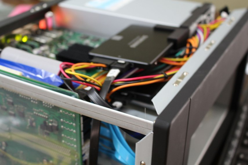 PSU Bracket for U-NAS NSC-800 NAS Server Chassis
