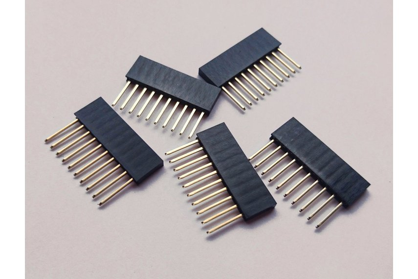 10 pcs x 10 pin female header