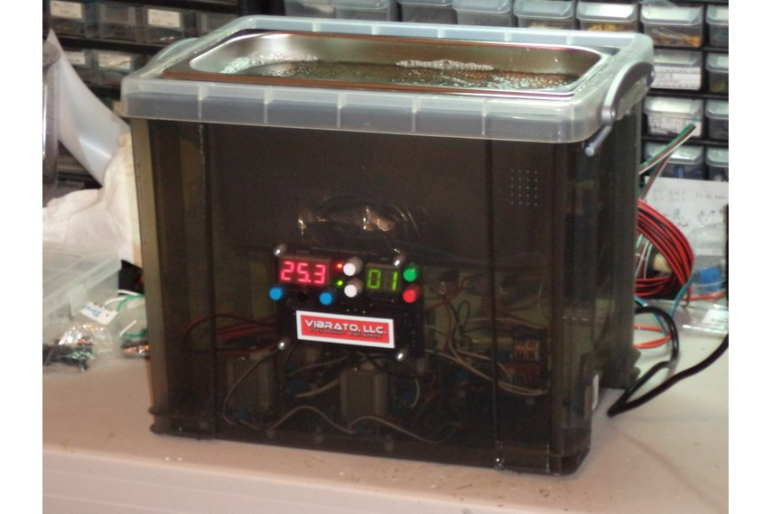 6 Quart 60kHz VIBRATO Ultrasonic Cleaner