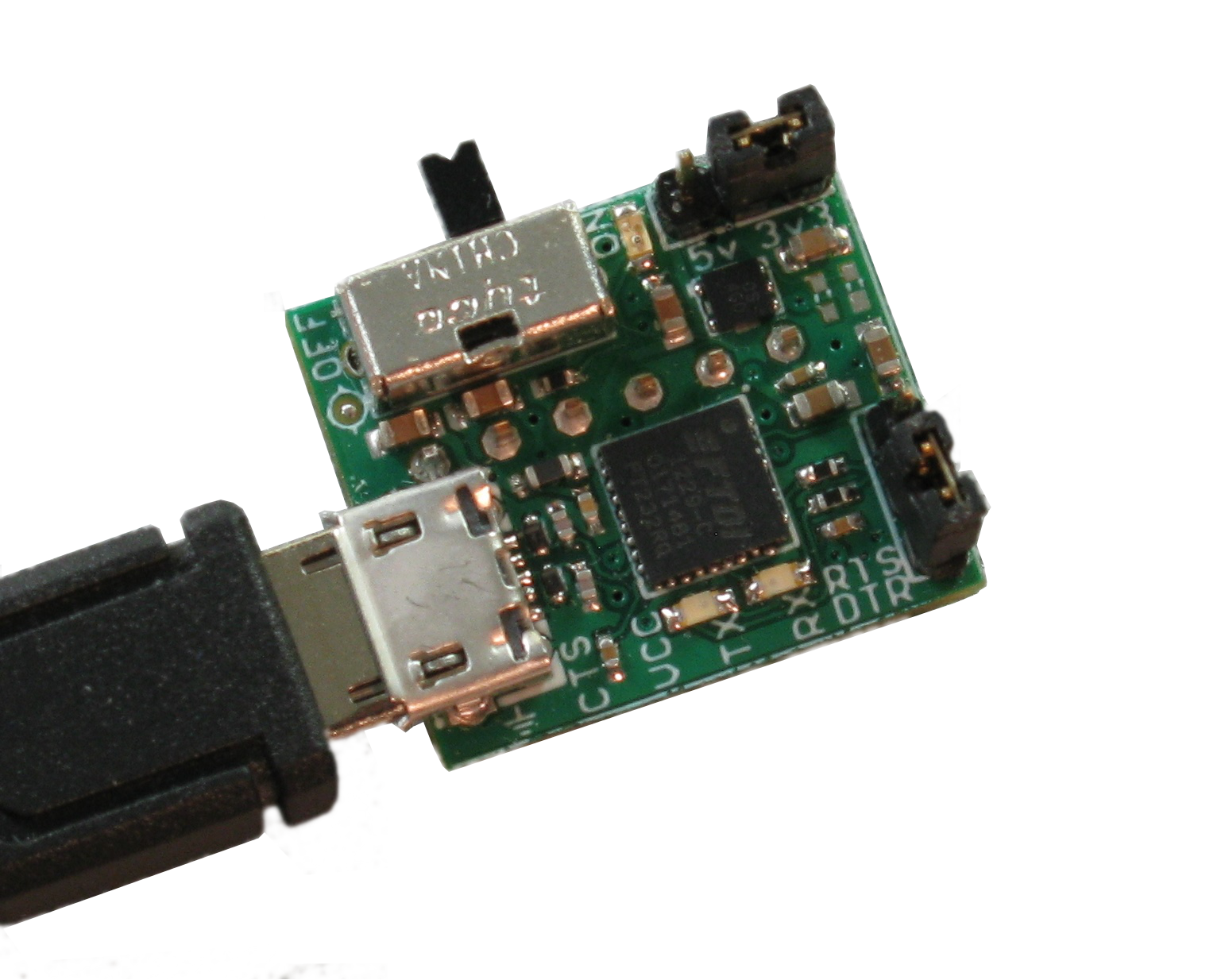 Ftdi usb to serial breakout board the visiport from