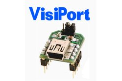 VisiPort USB To Serial Adapter for Debugging Microcontrollers
