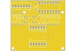 7-segment 4-digit  LED display - PCB only