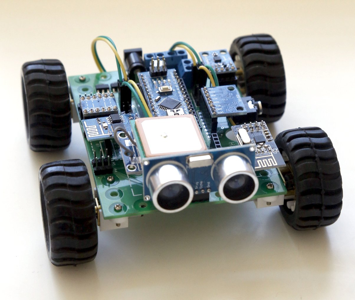 Hackabot nano arduino compatible robot kit from