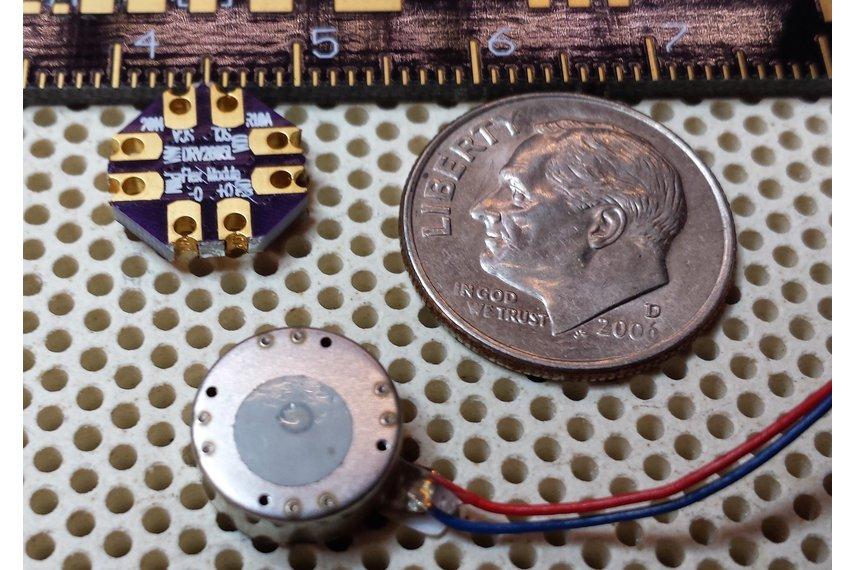 DRV2605L LRA/ERM Haptic Vibration Flex Module