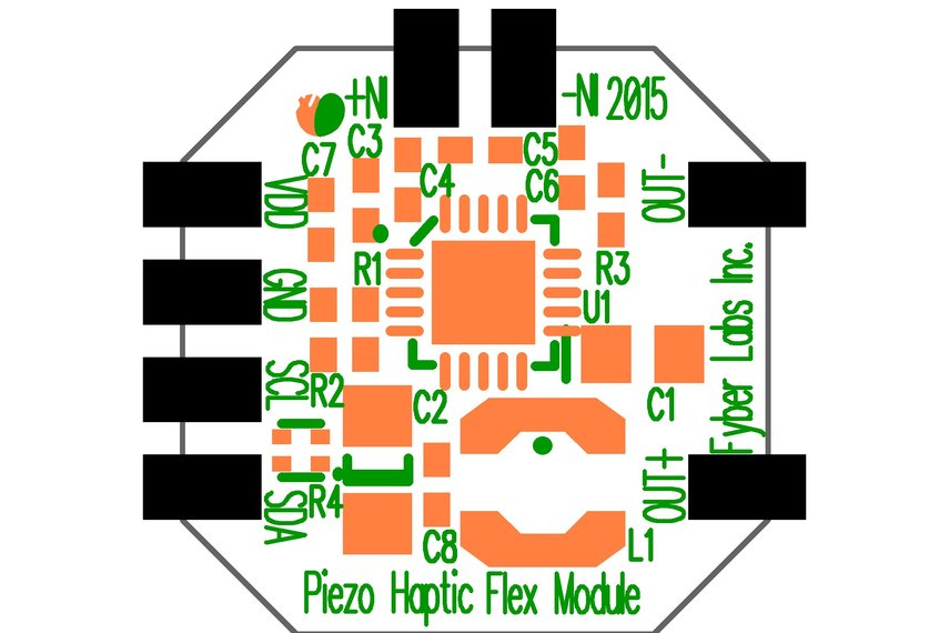 Piezo Haptic Flex Module
