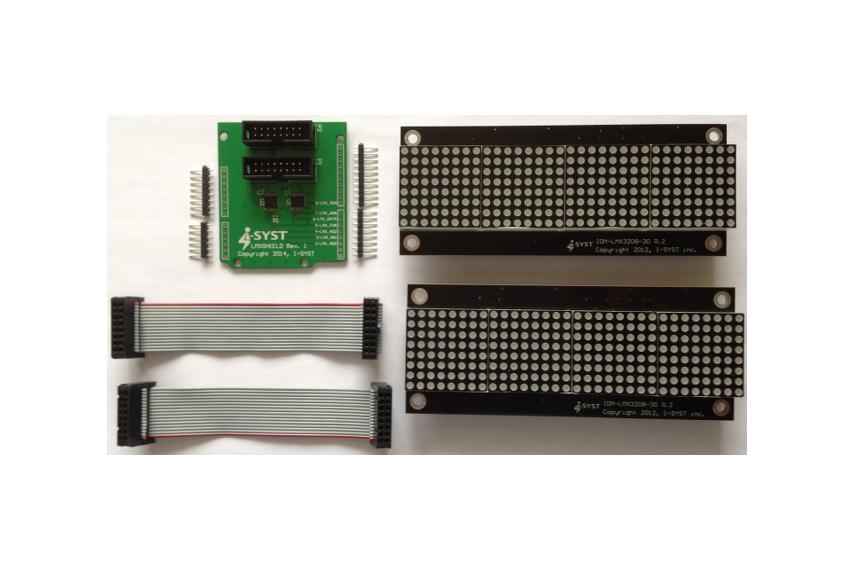 LED Matrix Multi-Display kit Duo for Arduino