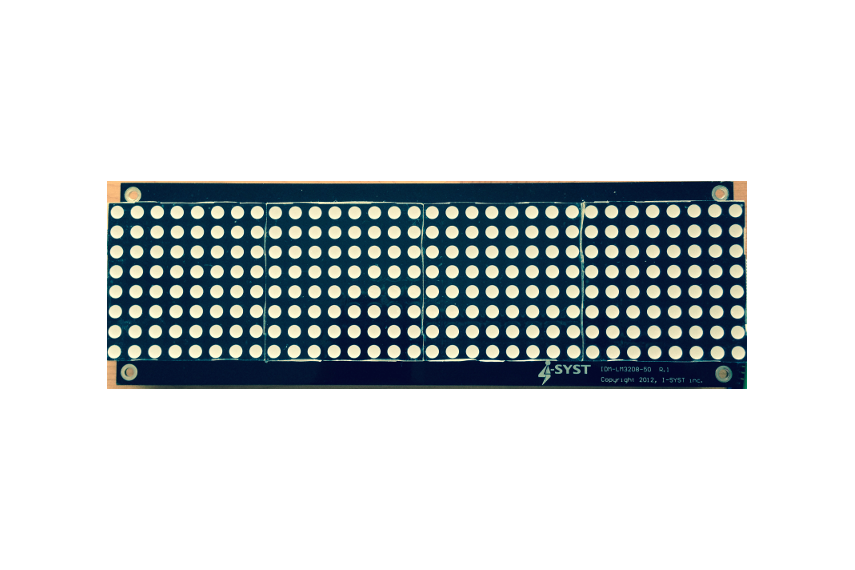 Led matrix display board for arduino arm from hnhoan