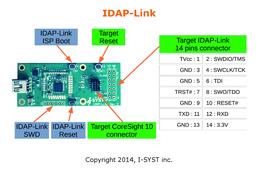 CMSIS-DAP debug JTag, SWD, microSD, Drag & Drop