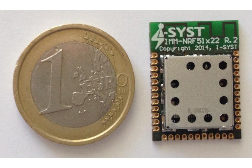 nRF51422 ANT+, Bluetooth LE, ARM Cortex-M0, 30 i/o